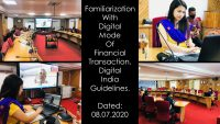 Familiarization With Digital Mode Of Financial Transaction, Digital India Guidelines